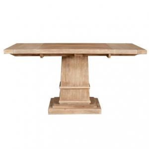 Hudson Square Extension Dining Table, Stone Wash