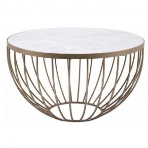 Nakasa Marble Top Coffee Table